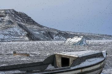 Iceboatwoodcut